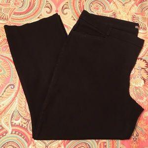 Maurice's Black Stretch Dress Pant, Sz. 24 Reg